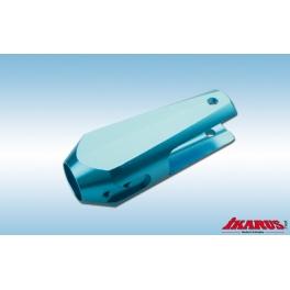 Hauptblatthalter, Alu, blau eloxiert 50% Rabatt