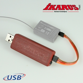 USB-Interfaceset for Graupner HoTT receiver
