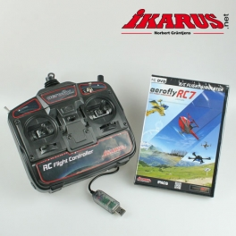 Set: aeroflyRC7 ULTIMATE with USB-Commander