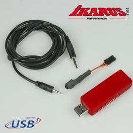 USB-Interface für den aeroflyRC7  (evtl.  ist ein Adapter erforderlich)