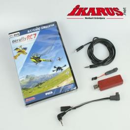 Set: aeroflyRC7 PROFESSIONAL with USB-Interface for Spektrum/Futaba/HoTT
