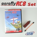 Set: aeroflyRC8 with Interface for Grp/-HoTT