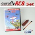 Set: aeroflyRC8 with Interface for Grp/-HoTT