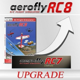 Upgrade from RC7 ULTIMATE to aeroflyRC8