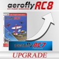 Upgrade from RC7 PROFESSIONAL to aeroflyRC8