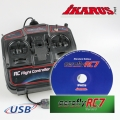 Set: aeroflyRC7 Standard  with USB-Commander