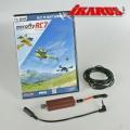 Komplettset: aeroflyRC7 PROFESSIONAL mit USB-Interface für Spektr.