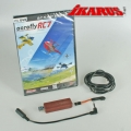 Komplettset: aeroflyRC7 ULTIMATE mit USB-Interface für Spektrum