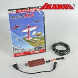 Set: aeroflyRC8 mit Interface für Futaba
