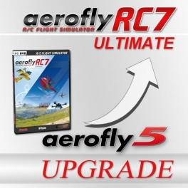 Upgrade von aerofly5 auf aeroflyRC7 ULTIMATE  (Download für Windows)
