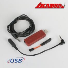 USB-Interfaceset for 3.5 mm Mono (Spektrum) mono)