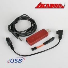 USB-Interfaceset for 6-Pin square (Futaba)