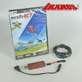 Set: aeroflyRC7 ULTIMATE  with USB-Interface for Futaba