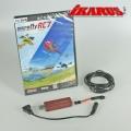Komplettset: aeroflyRC7 ULTIMATE  mit USB-Interface für Futaba
