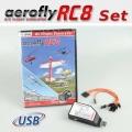 Set: aeroflyRC8 with SimConnector for Futaba
