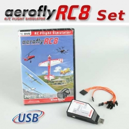 Set: aeroflyRC8 mit SimConnector