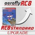 Upgrade aeroflyRC8 STANDARD auf die RC8 Vollversion