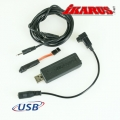 Black USB Second Player Interface for Futaba