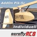 AddOn Pik-5c mit individuellen Initialen