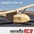 AddOn Pik-5c für aeroflyRC8