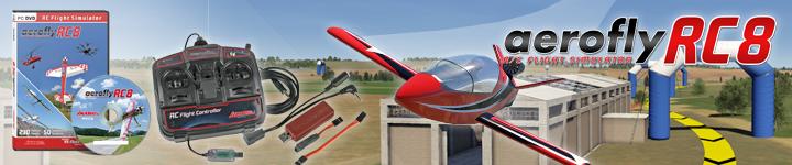 aeroflyRC8 Komplettsets