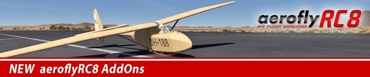 aeroflyRC8-AddOn-Modelle