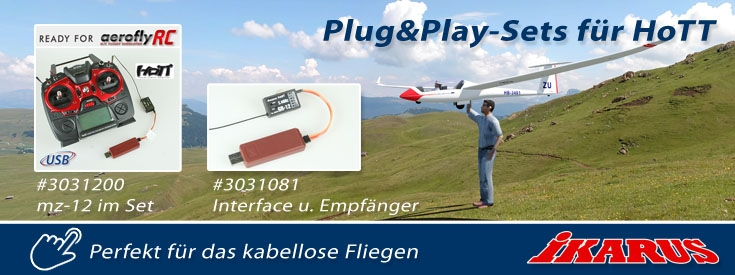 Plug&Play HoTT Sets