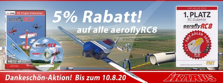 RC8 Rabatt- Platz1